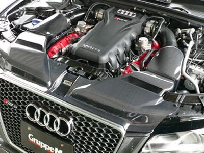 GruppeM intake for the Audi RS5 V8 B8