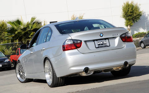 HKS 335i Exhaust System Full Stainless Steel