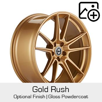 HRE Optional Finish Gold Rush