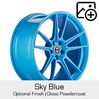 HRE Optional Finish Sky Blue