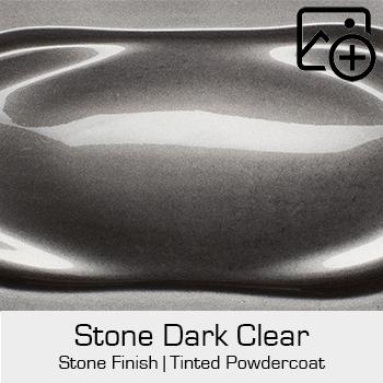 HRE Stone Finish Stone Dark Clear
