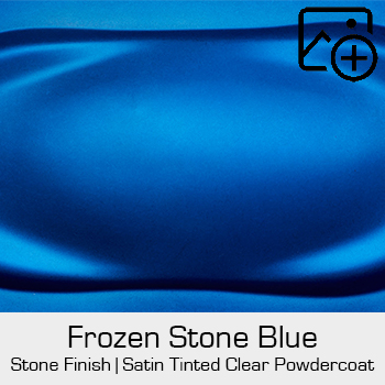 HRE Stone Finish Frozen Stone Blue