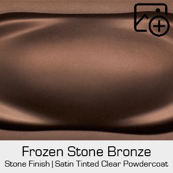 HRE Stone Finish Frozen Stone Bronze