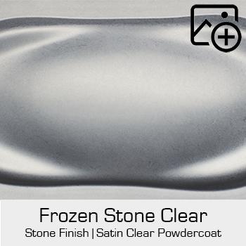 HRE Stone Finish Frozen Stone Clear