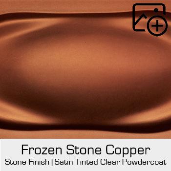 HRE Stone Finish Frozen Stone Copper