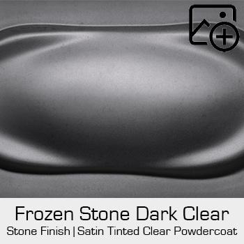 HRE Stone Finish Frozen Stone Dark Clear