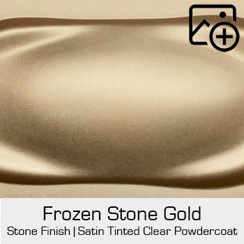 HRE Stone Finish Frozen Stone Gold