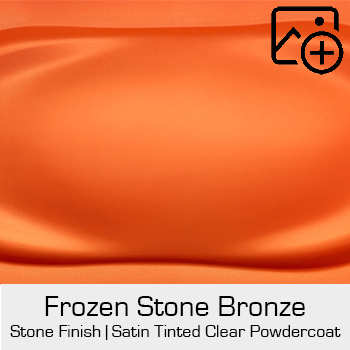 HRE Stone Finish Frozen Stone Orange