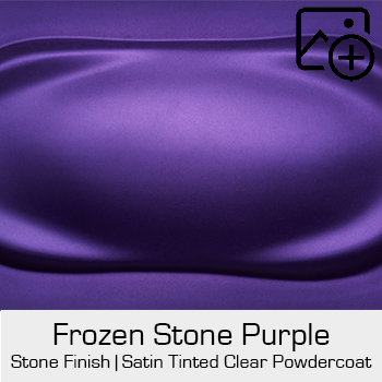 HRE Stone Finish Frozen Stone Purple