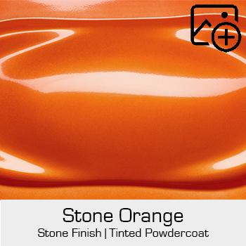 HRE Stone Finish Stone Orange