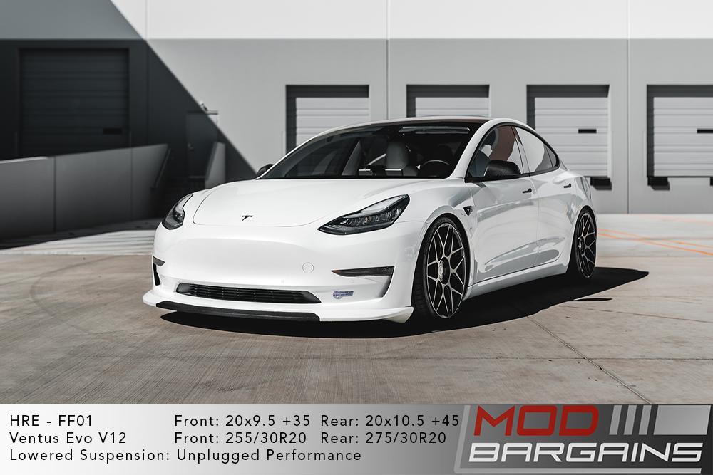 *HRE FF01 Wheels for Tesla 20