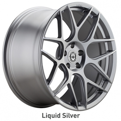 HRE Flow Form FF01 Liquid Silver Wheels