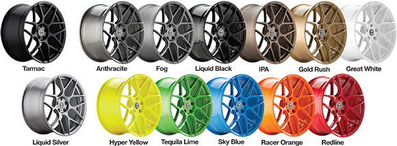 HRE FF01 Wheel Colors