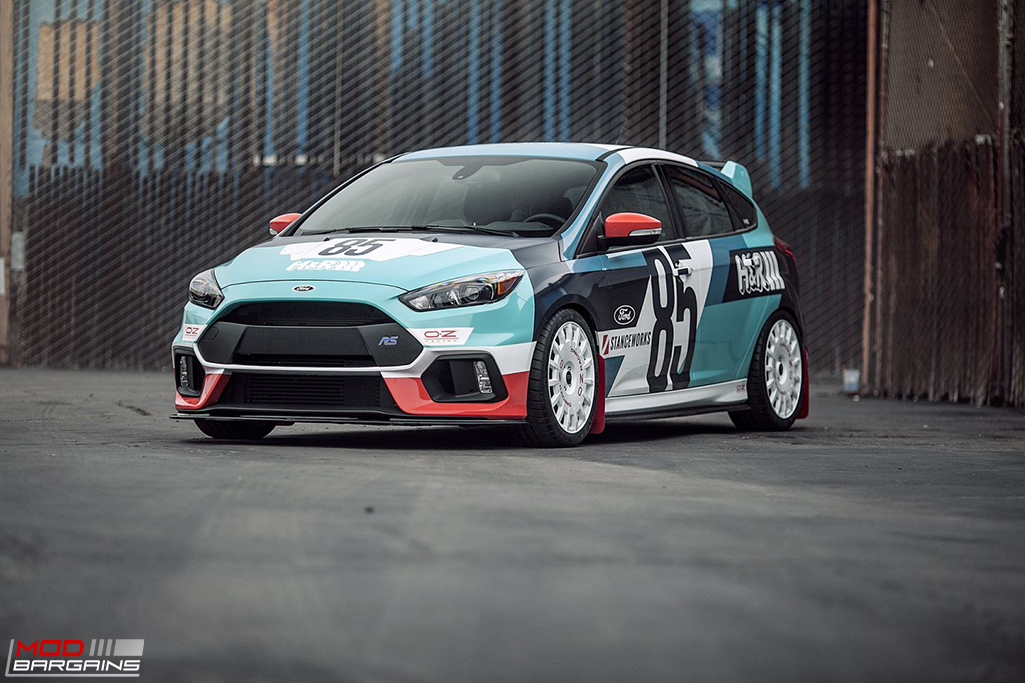 H&R Susupension on Ford Focus RS