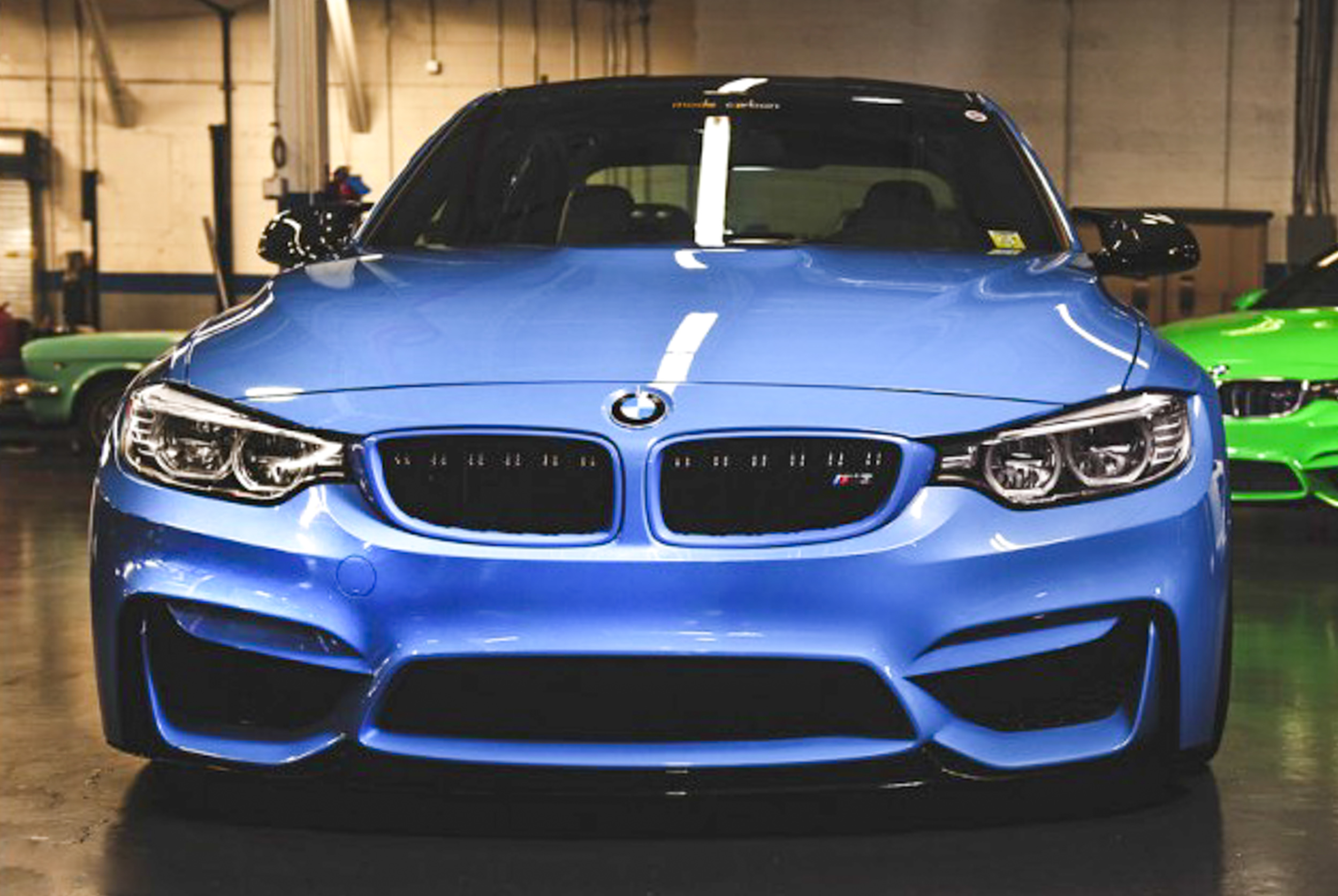 Painted Kidney Grille Surrounds For 2014 Bmw M3 M4 F80