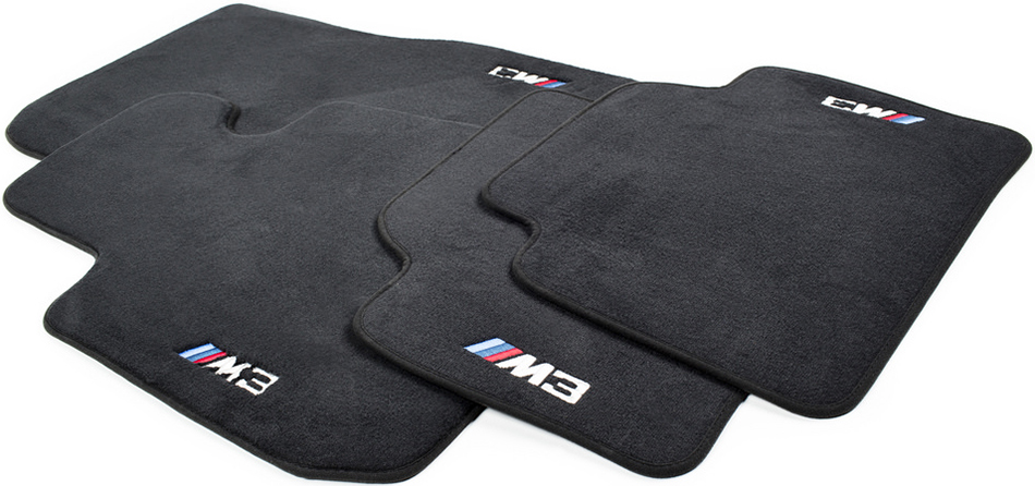 BMW M3 M4 F80 F82 F83 Custom Floor Mat Set