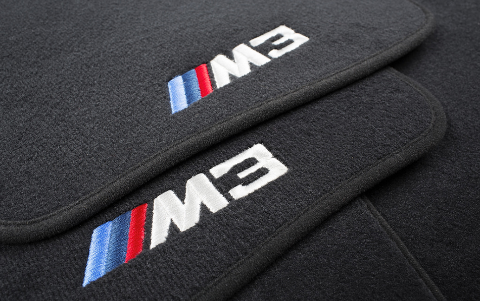 BMW M3 M4 F80 F82 F83 Custom Floor Mats