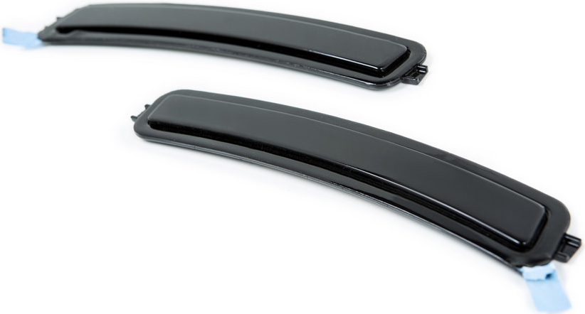 BMW 5-Series G30 Painted Front Reflectors Black