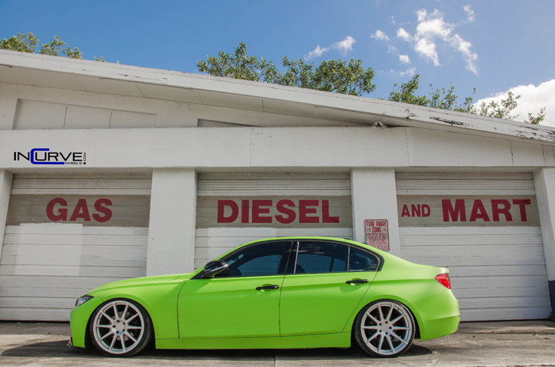 Green BMW Incurve RS5 IC-S10