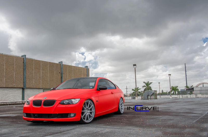 Red BMW Incurve RS5 IC-S10
