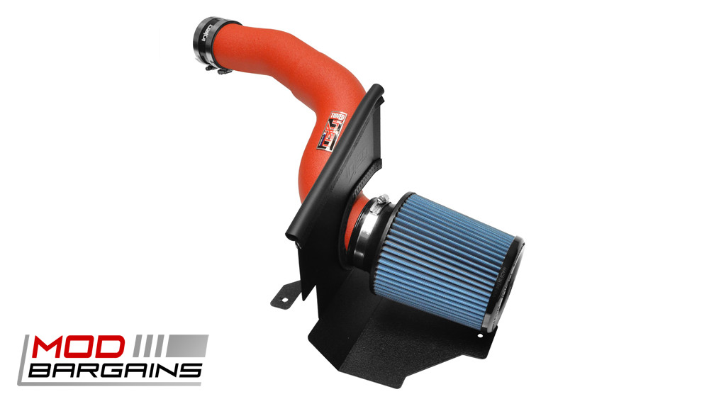 Injen SP9003 Cold Air Intake Ford Focus RS 2016 SP9003WR Wrinkle Red Finish