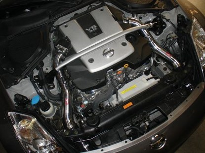 Injen Intake System for Nissan 350Z SP1987P Installed