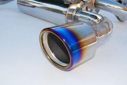 Invidia Gemini Exhaust Titanium Rolled Tips
