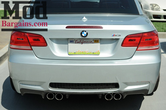 Carbon Fiber M3 Rear Diffuser for 2008-12 BMW M3 [E92/E93] 3D Style