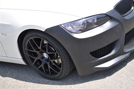 BMW E92/E93 3 Series Amuse Ericsson Style Front Bumper Front Passenger View