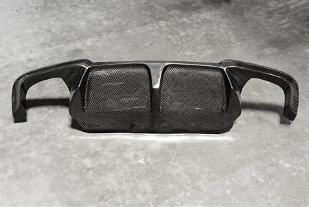 BMW M5 3D Style Carbon Fiber Rear Diffuser