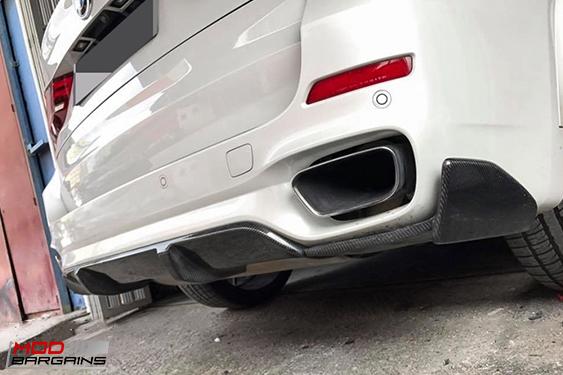 Carbon Fiber Performance Style Rear Diffuser for BMW X5 M-Sport [F15] -  BMDI1501