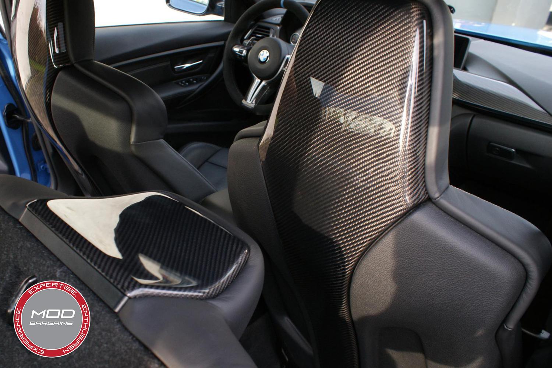 Carbon Fiber Seat Shells for BMW M4 F82