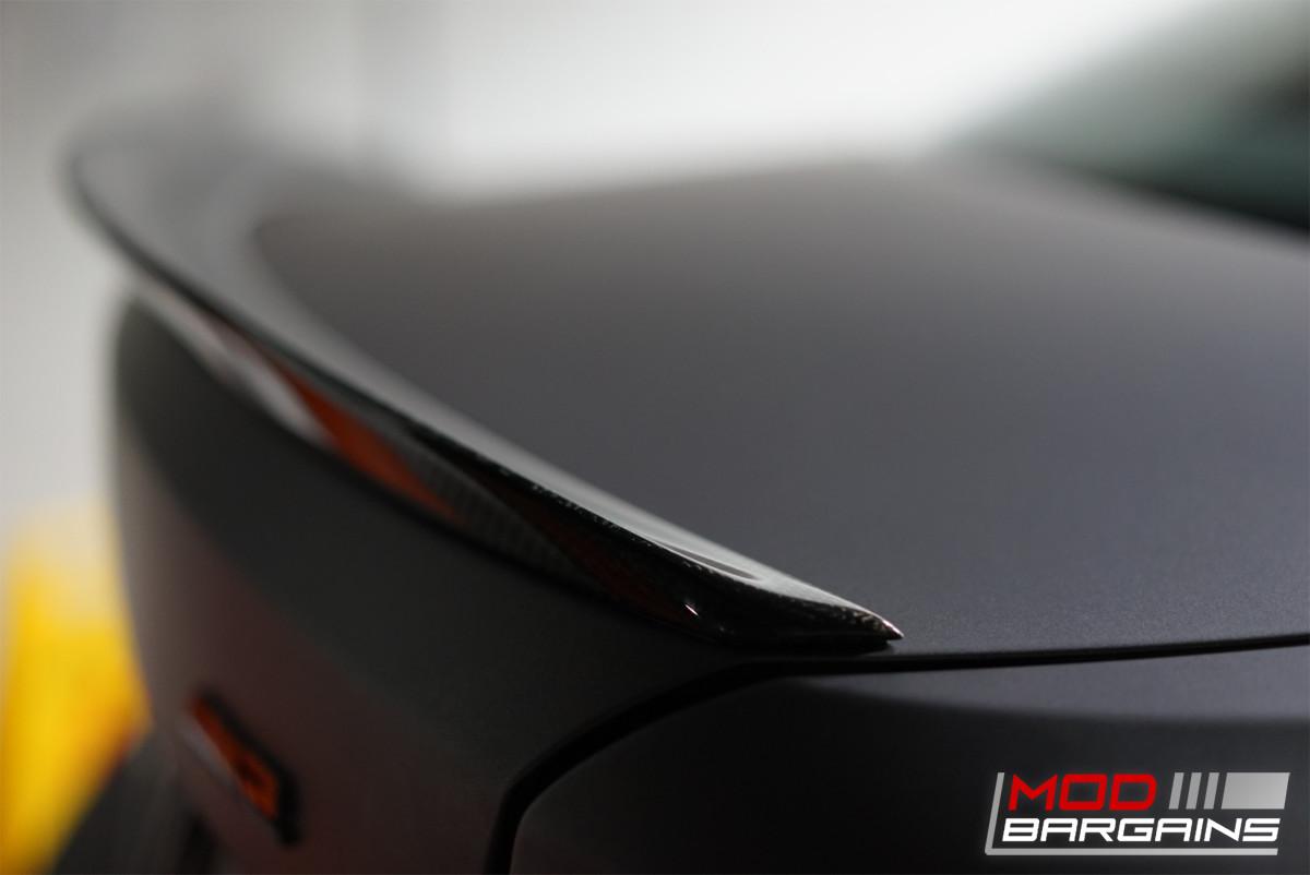 Carbon Fiber Trunk Spoiler Installed on 2015+ BMW M2 [F87] BMFS8703