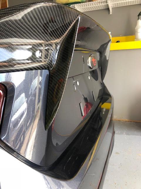 CFW Carbon Fiber Trunk Lid Spoiler for 2012-14 Scion FR-S/Subaru BRZ ZN6 ZC6 Installed at ModBargains.com 1