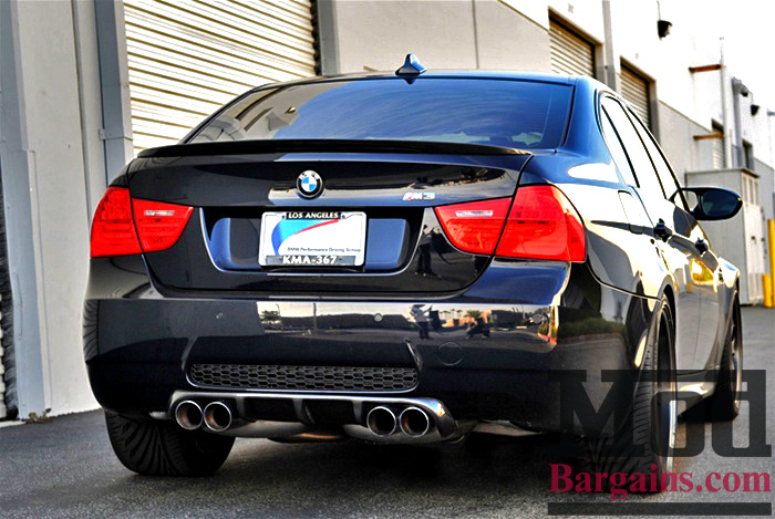 Carbon Fiber M3 Rear Diffuser for 2008-12 BMW M3 Sedan [E90] Type II Style