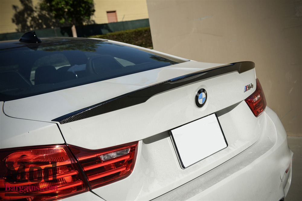 Carbon Fiber Trunk Spoiler For 2014+ BMW M4 [F82] Performance Style