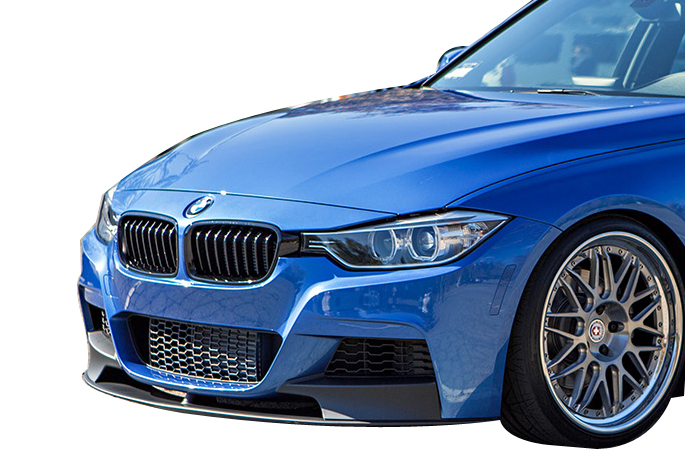 f30 performance style front lip for mtech front bumper