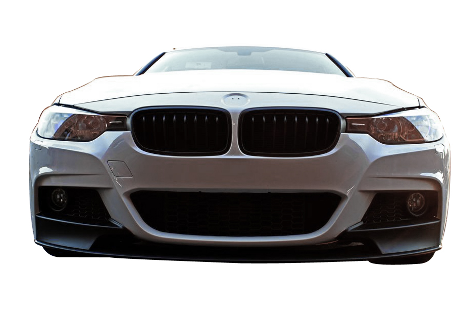 F Performance Style Front Lip For MTECH Front Bumper - 2012 bmw 335i m sport