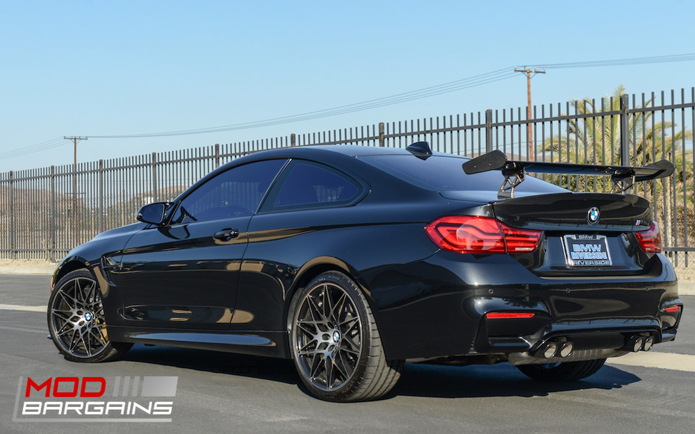 2014+ BMW M3 M4 F80 F82 F83 JL Motoring Carbon Fiber Rear Trunk Wing Spoiler BMTS8X11