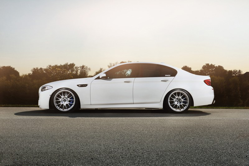 KW V3 Coilovers Installed on BMW M5 F10