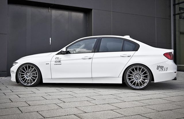 KW Coilovers Insatled on BMW 328xi F30 (2)