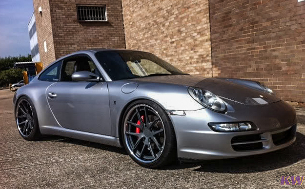 KW V3 Coilovers Installed on Porsche 996 (4)