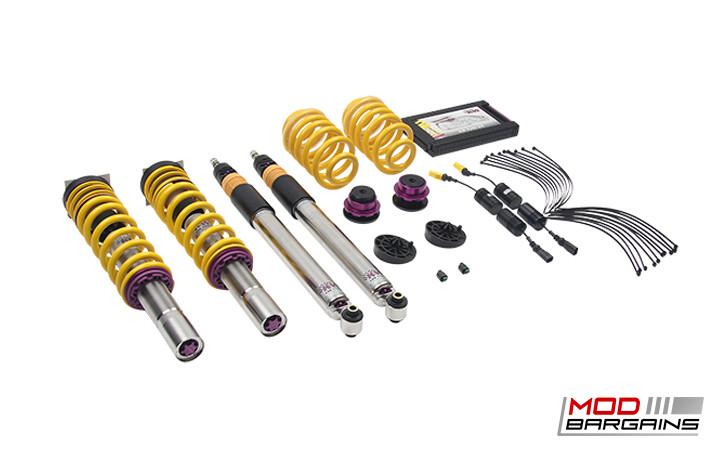 352100AW 352100AV 352100BK KW V3 Variant 3 Coilover Kit Audi B9 A4 FWD 2016+