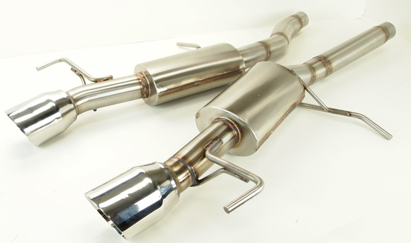 KPE Cadillac ATS 3.6L Axle Back Exhaust System
