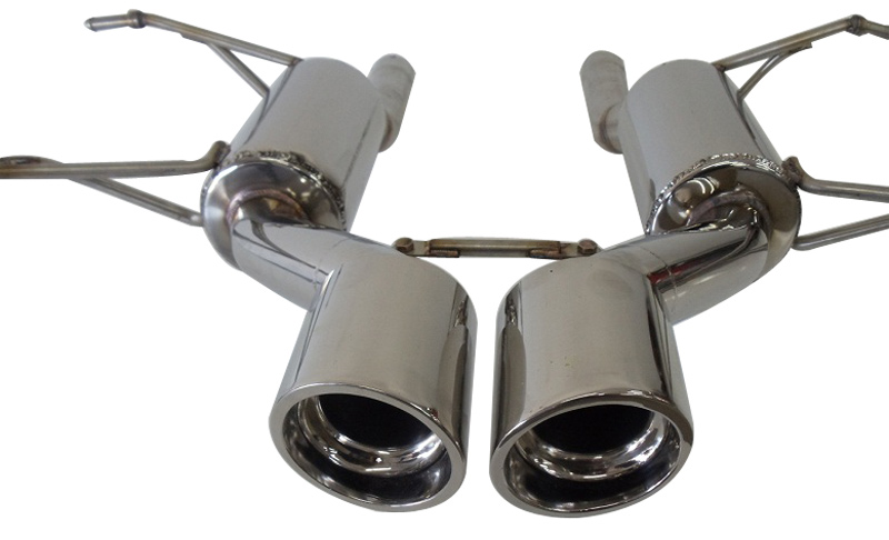 Korkar Performance Engineering Cadillac CTS-V Axle Back Exhaust 1