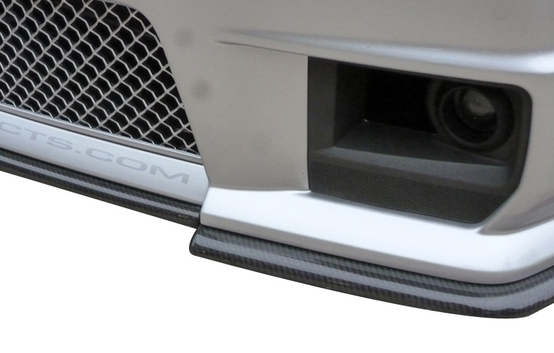Korkar Performance Engineering Cadillac CTS-V Carbon Fiber Front Splitter 3