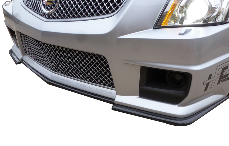 Korkar Performance Engineering Cadillac CTS-V Carbon Fiber Front Splitter