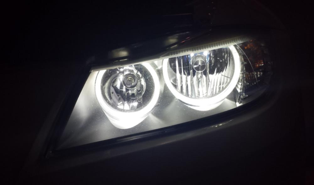 LUX V3 Angel Eye LEDs for LCI Halogen E90 BMWs