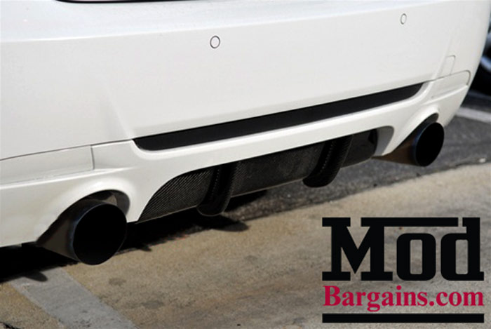 Carbon Fiber Rear Diffuser Cover for 335is