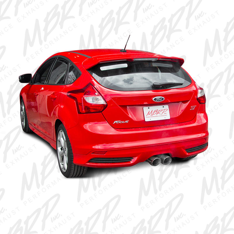 MBRP Focus ST Cat Back Exhaust for 2013-16 Models at ModBargains 2